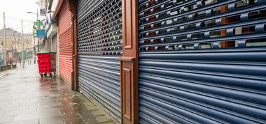 Roller shutter Spray Painting in Merseyside and North West