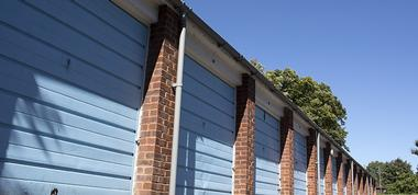 Garage door Spray Painting in Merseyside and North West
